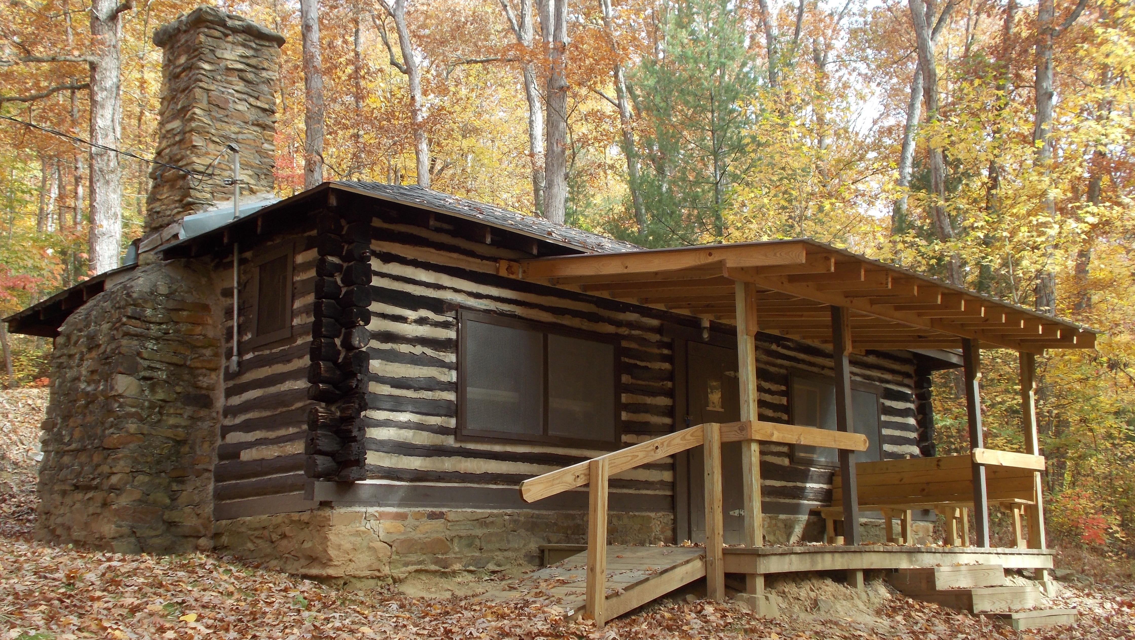 unstainedcabin series sunrise options log deluxe in salem ohio pricing hunter cabins supreme cabin