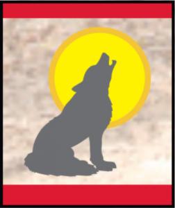 Howlin at the moon